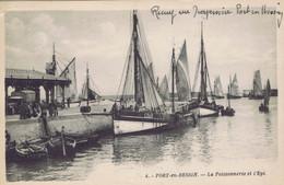 14 - Port-en-Bessin (Calvados) - La Poissonnerie Et L'Epi - Port-en-Bessin-Huppain