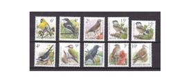 G465. Belgium / Belgique / België / 1992 - 1998 / Birds / Pajaros / Oiseaux - Sperlingsvögel & Singvögel