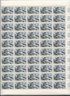 3 Feuilles Complètes De  50 Timbres N° 1078, 1079 Et 1980 Réalisations Techniques. - Volledige Vellen