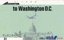 JAPAN - ANA To Washington DC(110-7694), Used - Aviones