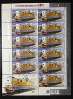 UKRAINE, Uncirculated Mini Sheet, « TRAINS », « LOCOMOTIVES », 2009 - Trenes