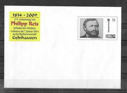 ENVELOPPE FDC ( Philipp REIS  GELNHAUSEN 1834-2009) NEUF** - [7] Repubblica Federale