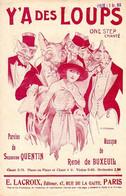 Y'A DES LOUPS - 1920 - DE QUENTIN ET BUXEUIL - TRES BELLE ILLUSTRATION HENRI FERRAN - TRES BON ETAT - - Music & Instruments