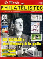 Le Monde Des Philatelistes N.439,3/1990,De Gaulle,Sarre,Station Spatiale,carnet G.Bretagne,mail Boat, - French (from 1941)