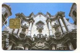 CUBA, Used Chip Phonecard, In Perfect Condition. Catedral De La Habana, # Cuba-6 - Cuba