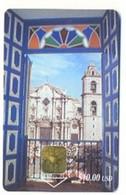CUBA, Used Chip Phonecard, In Perfect Condition. Catedral De La Habana, # Cuba-7 - Cuba