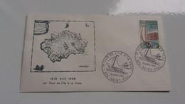 REUNION (1968) Premier Tour De L'ile A La Voile - Zonder Classificatie