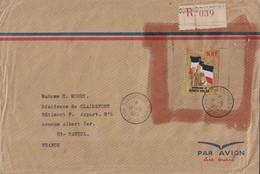 HAUTE VOLTA - LETTRE RECOMMANDEE - TIMBRE OR - 500F - DE OUAGADOUGOU LE 17-6-1972 POUR LA FRANCE - POUR EVITER LE VOL L - Upper Volta (1958-1984)