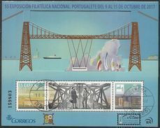 2017-ED. 5172 H.B. Exfilna 2017. Portugalete. Puente Metálico-USADO - 2011-... Gebraucht