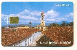 CUBA, Used Chip Phonecard, In Perfect Condition, Sancti Spiritus Trinidad , # Cuba-62 - Cuba