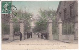 Militaria - Militaire : Casernes : VIENNE - Isère : Quartier Saint Germain : Caserne De Cavalerie - ( Colorisée ) - Barracks