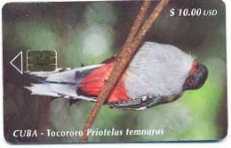 CUBA, Used Chip Phonecard, In Perfect Condition, Tocororo... , # Cuba-63 - Cuba