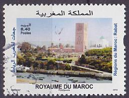 Timbre Oblitéré N° 1675(Yvert) Maroc 2013 - Rabat - Maroc (1956-...)