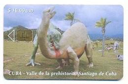 CUBA, Used Chip Phonecard, In Perfect Condition, Valle De La Prehistoria, # Cuba-68 - Cuba