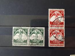Timbres Allemagne : 1935 Aigle YT N° 545, 546  & - Oblitérés