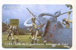 CUBA, Used Chip Phonecard, In Perfect Condition, Valle De La Prehistoria, # Cuba-69 - Cuba