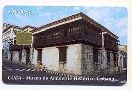 CUBA, Used Chip Phonecard, In Perfect Condition, Museo De Ambiente Histórico, # Cuba-72 - Cuba