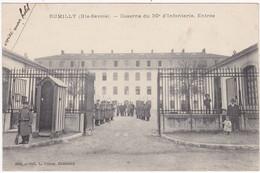 Militaria - Militaire : Casernes : RUMILLY - Hautes Savoie : Caserne Du 30é D'Infanterie - Entrée : - Caserme