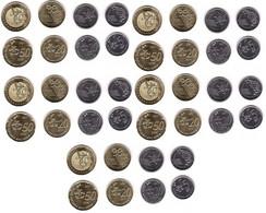 Malaysia - 5 Pcs X Set 4 Coins 5 10 20 50 Sen 2017 UNC Lemberg-Zp - Malaysia