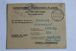 PRISONNIER ALLEMAND EN FRANCE  Depot 189 - Guerre