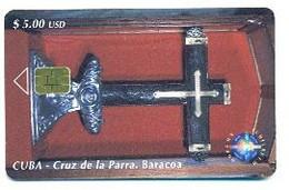 CUBA, Used Chip Phonecard, In Perfect Condition, Cruz De La Parra. Baracoa, # Cuba-79 - Cuba