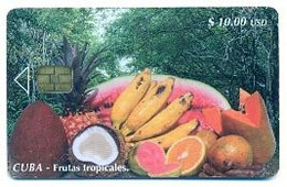 CUBA, Used Chip Phonecard, In Perfect Condition, Frutas Tropicales, # Cuba-91 - Cuba