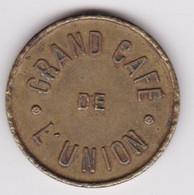 Jeton - Token - Athus - Grand Café De L'Union - ( Province De Luxembourg ) - Notgeld