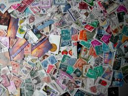 Vrac Plus De 2000 Timbres Nombreux Doubles - Lots & Kiloware (mixtures) - Min. 1000 Stamps