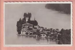 OUDE POSTKAART ZWITSERLAND - SCHWEIZ -     ISELTWALD - STEMPEL STRAND-HOTEL  - 1935 - BE Berne