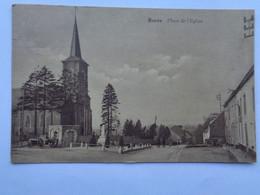 Réf: 81-11.    ROSEE            Place De L'Eglise.   ( Brunâtre ) - Florennes