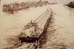 """S/S THE STEWART  J. CORT DETROIT RIVER  / SAINT LAURENCE SEAWAY CANADA -☛NORBERT COLLINS-☛FAIRE PART OU """"AUTRES"""" - Mededelingen"""