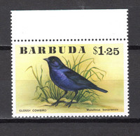 BARBUDA N° 255  NEUF SANS CHARNIERE COTE  5.50€        ANIMAUX OISEAUX - Antigua And Barbuda (1981-...)