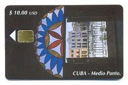 CUBA, Used Chip Phonecard, In Perfect Condition, Medio Punto, # Cuba-145 - Cuba