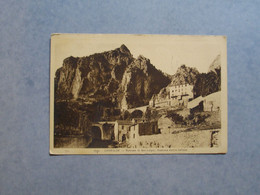 GRIMALDI  -  Burrone Di  San Luigi   - Frontière Franco Italienne  -   Italie - Imperia