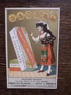 L29/78 CHROMO . Deschamps . Biscuits Viennois Et Croquettes Milanaises - Altri