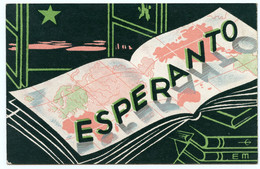 Espéranto. Langue Internationale. éditeur Union Espérantiste De France 34 Rue De Chabrol Paris X° - Esperanto