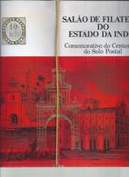 Raro Catálogo Do Salão De Filatelia Do Estado Da Índia Lisboa 1971. Pag. Malsá. Catalog Of Philately Hall State Of India - Inde Portugaise