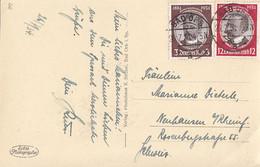 DR AK Bad Orb Mif Minr.540,542 Bad Orb 26.7.34 Gel. In Schweiz - Allemagne