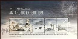 Australian Antarctic Territory AAT 2013 Antarctic Expedition Birds Seals Sheetlet MNH - Unused Stamps