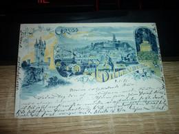 Carte Postale Allemagne Hesse Gruss Aus Dillenburg - Dillenburg