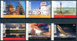 ONU New-York 2020 - Unesco - Patrimoine Mondial Fédération De Russie - 6 Timbres Détachés De Carnet De Prestige ** - Neufs