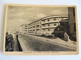 CATANZARO RIONE S.LEONARDO CASE I.N.C.S CALABRIA    VIAGGIATA COME DA FOTO IMM. OPACA - Catanzaro