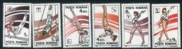 ROMANIA 1991 Gymnastics MNH/**.  Michel 4655-60 - Ungebraucht