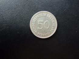 RÉPUBLIQUE FÉDÉRALE ALLEMANDE * : 50 PFENNIG   1966 J     KM 109.1      SUP - 50 Pfennig