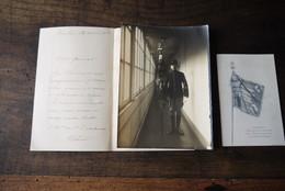 Ww1 1915 Documents Drapeau Ville Honfleur Pour Militaires Belges Tres Tres Rare - 1914-18