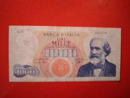 ITALY 1000 LIRE 1964  D-0374 - [ 2] 1946-… : Républic
