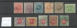 LITAUEN Lithuania 1919 Michel 50 - 60 O - Lithuania