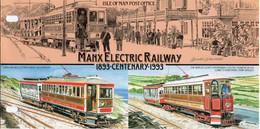 ISLE OF MAN 1993 Manx Electric Railway Centenary Presentation Pack - Isola Di Man