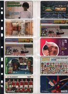 10 DIFFERENT TELECARTES FOR COLLECTION AT OFFER PRICE - Schweden