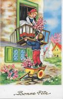 CP - Bonne Fête Maman : Illustration D'enfants : édit. - ( Photochrom N° 466 ) - Contemporanea (a Partire Dal 1950)
